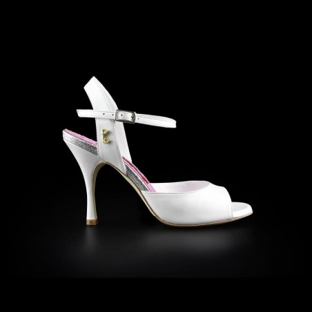 A 1 Perlato Bianco Heel 9 cm