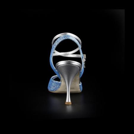 A 1 BIS CL Pitoncino acqua marina Tacco 8 cm