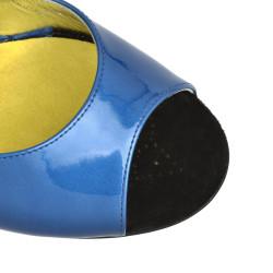 A 1 CL Vernice Blu Heel 9 cm