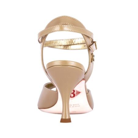 A 2 BIS CL Nappa perla Heel 7 cm