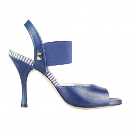 E 01 Blue Jeans Tacco 9 cm