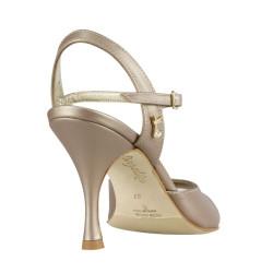 A 1 bronzo perlato heel 8 cm