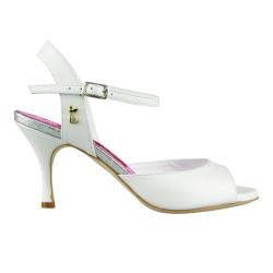 A 1 Perlato Bianco Heel 7 cm