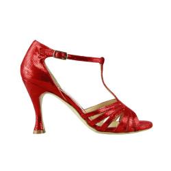 LIU' Caviale Rosso Heel 9 cm