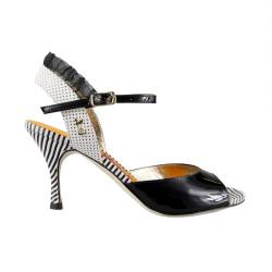 D 8 Betty Boop noir Heel 7 cm