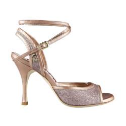 A 1 CL Glitter Rame Bordato Heel 9 cm