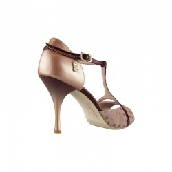A 26 Cherry sfumato Heel 8 cm
