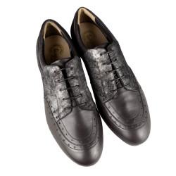 502 Nappa nero / Laminato Leather Sole