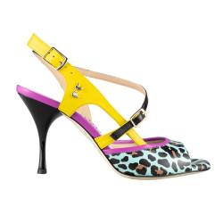 A 19 Leopard fantasy Heel 8 cm