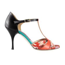 A 3 New corallo black Heel 9 cm