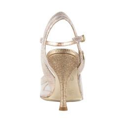 A 28 Glass Heel sottile 9 cm