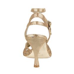 A 33 CL Puntino bronzo p.l. Heel 7 cm