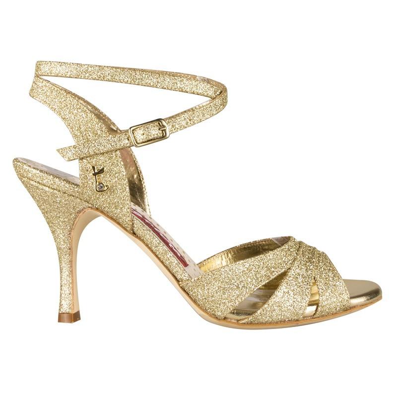 Woman tango shoes in Diamond Glitter