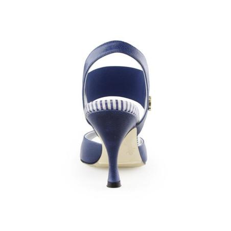 E 01 Blue Jeans Heel 7 cm