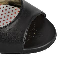 E 01 Black Heel 9 cm