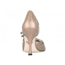 A 20 Perlato Gold Heel 9 cm