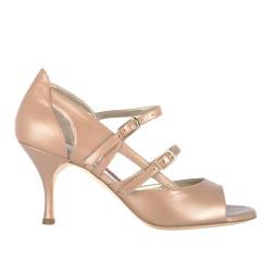 A 20 Perlato Gold Heel 7 cm