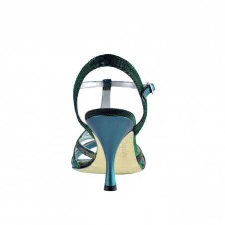 A 11 Notturno turchese Heel 7 cm