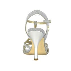 A 11 Notturno argento Heel 9 cm