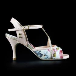 A 10 Rose magnolia Heel 7 cm