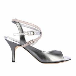 A 9 CL Acciaio Heel 7 cm