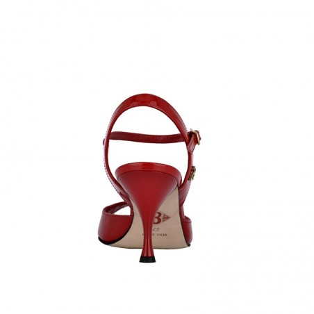 A 1 red patent leather Heel 7 cm