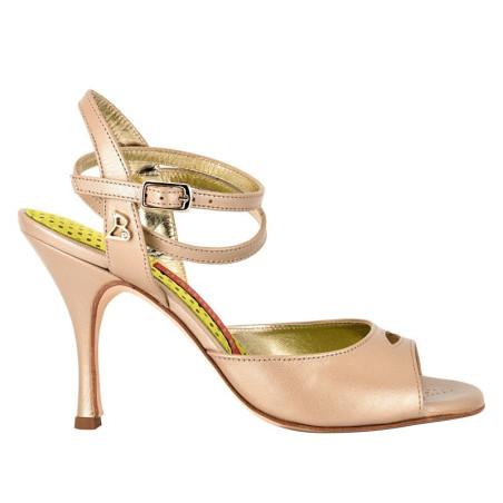 A 2 BIS CL Nappa perla Heel 9 cm