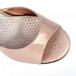 A 2 Vernice rosa Heel 9 cm